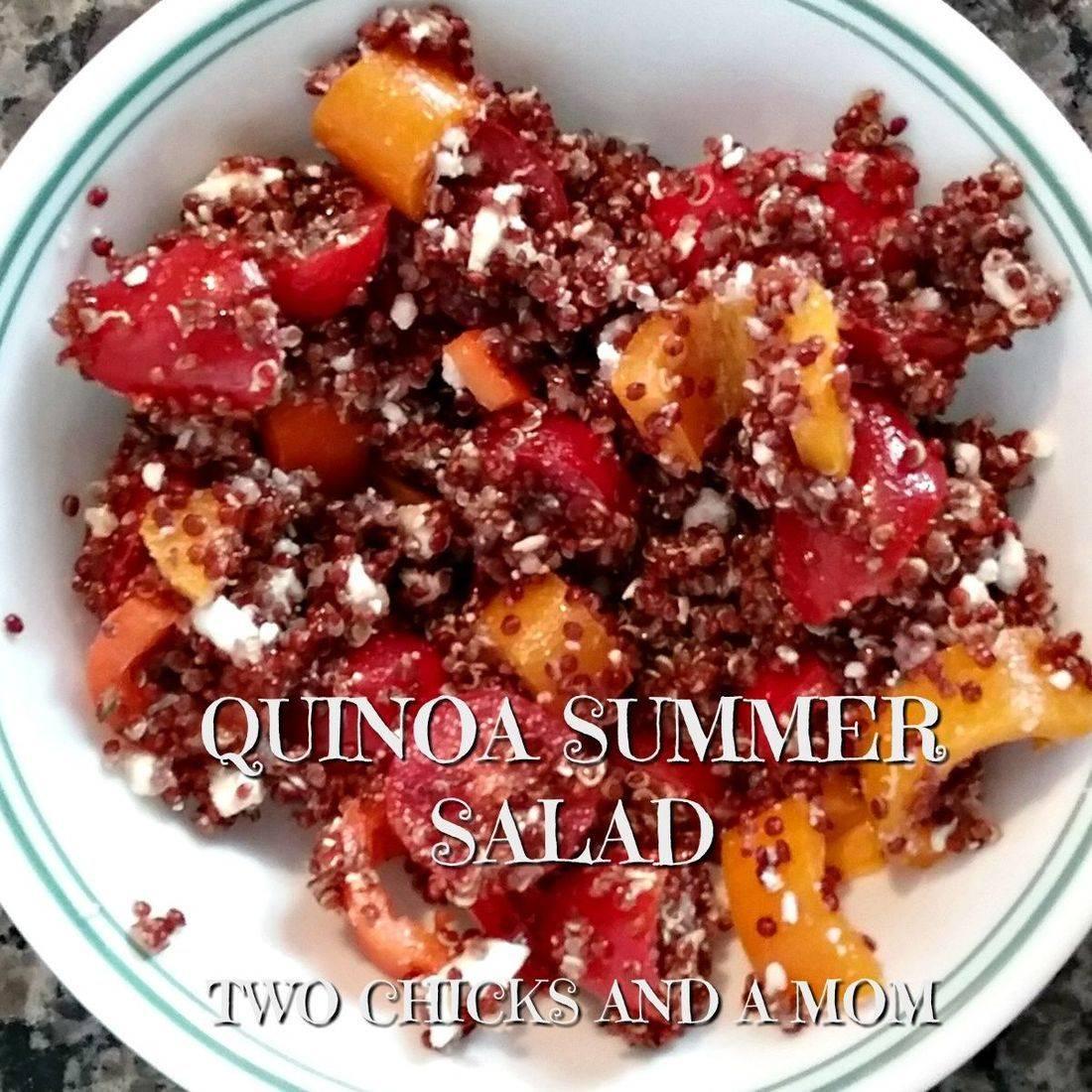 healthy eating, quinoa, vegetables, salad
