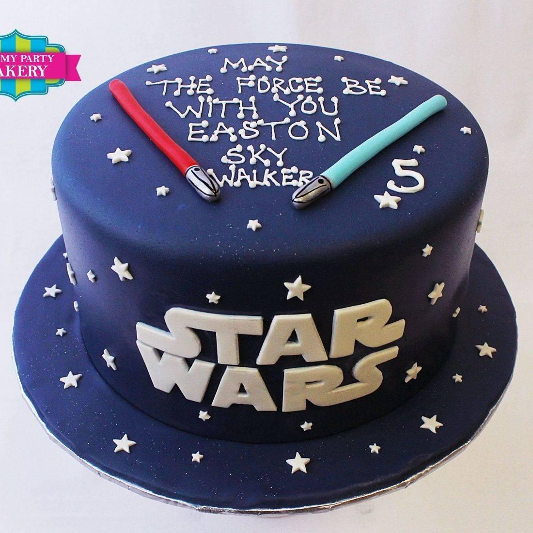 Custom Starwars Cake Milwaukee