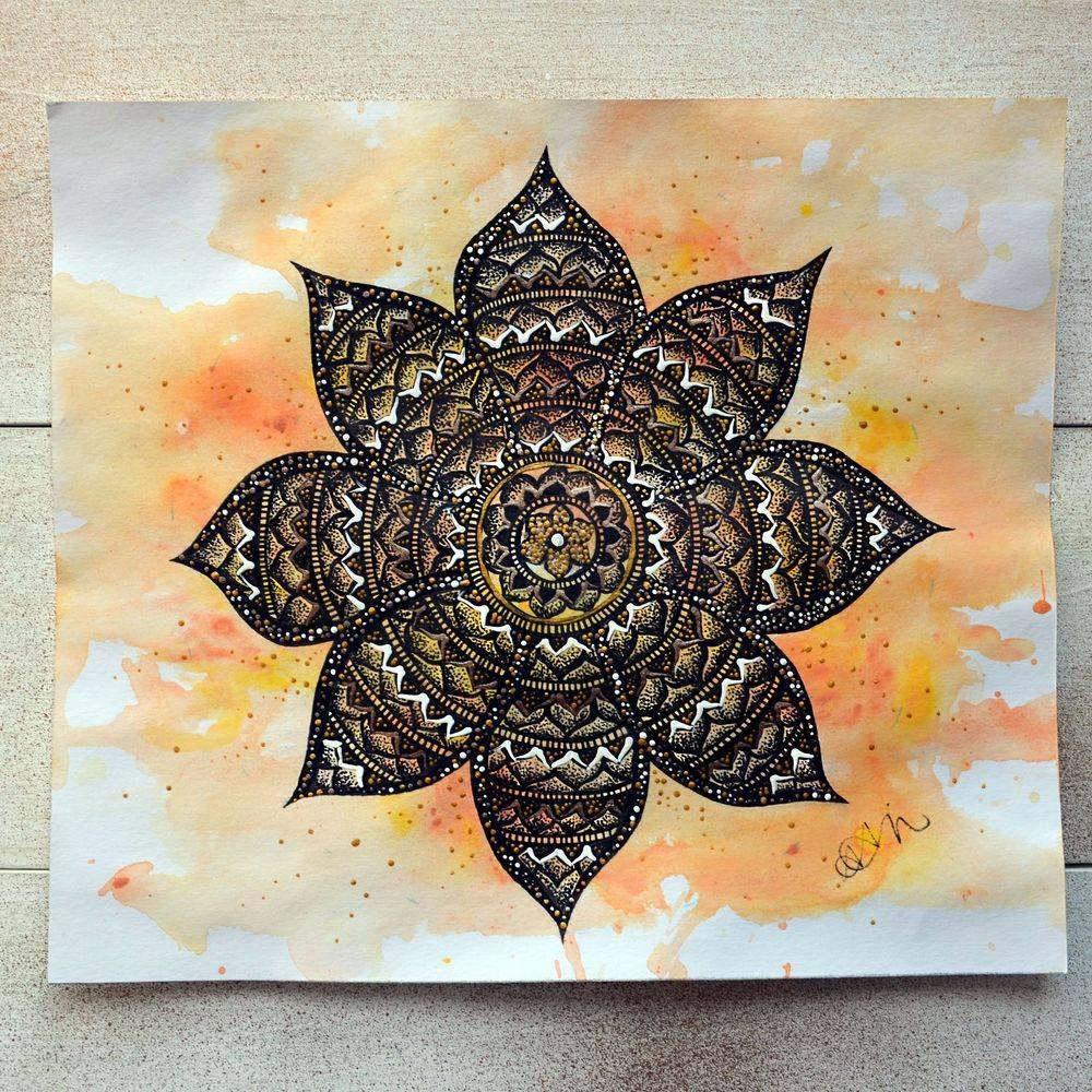 Sundial Mandala