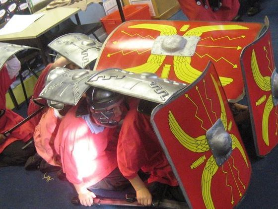 Roman workshop for primary schools ks1 & ks2