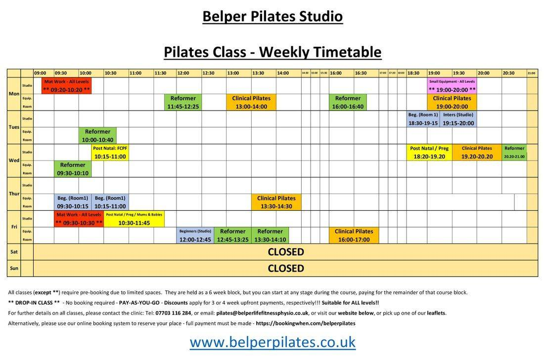 Belper Pilates pregnancy antenatal back pain fitness fit pit