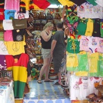 Shopping, Hip Strip, Montego Bay, Jamaica