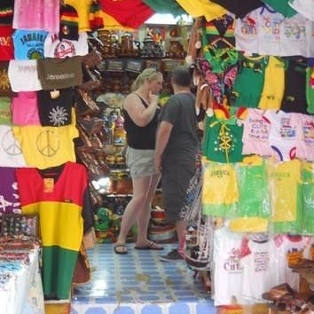 Shopping, Hip Strip, Montego Bay, Jamaica