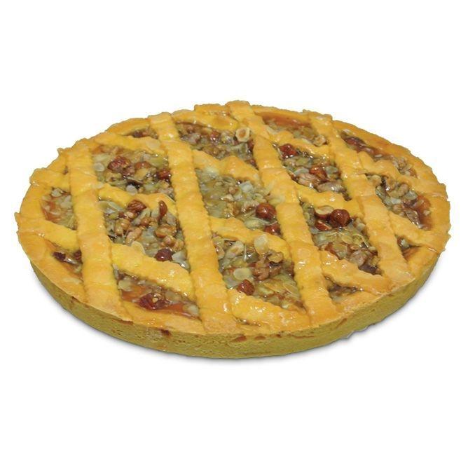 Mürbeteig Kuchen mit Aprikosenfüllung & Trockenfrüchte
