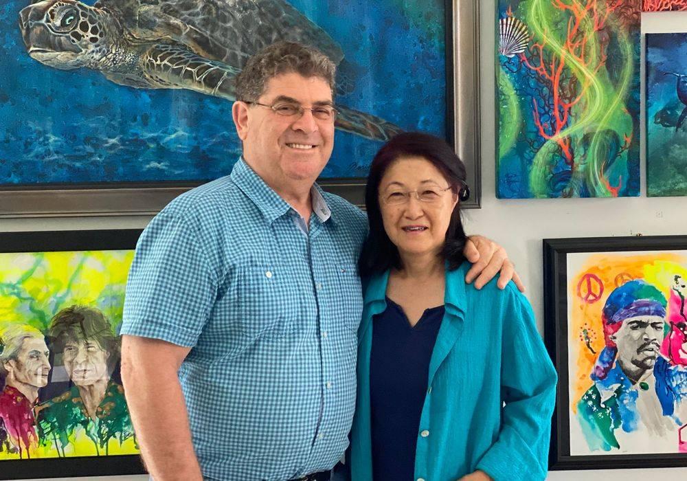 David and Noriko Cooper