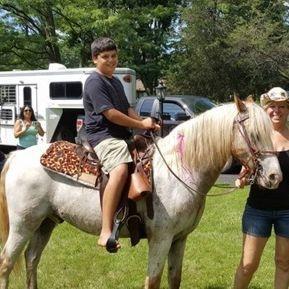 horse rides birthday