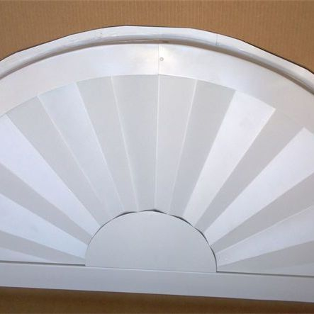 aluminum sunburst exterior decoration