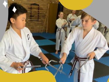 Yamane-ryu Kobodo Weapons training