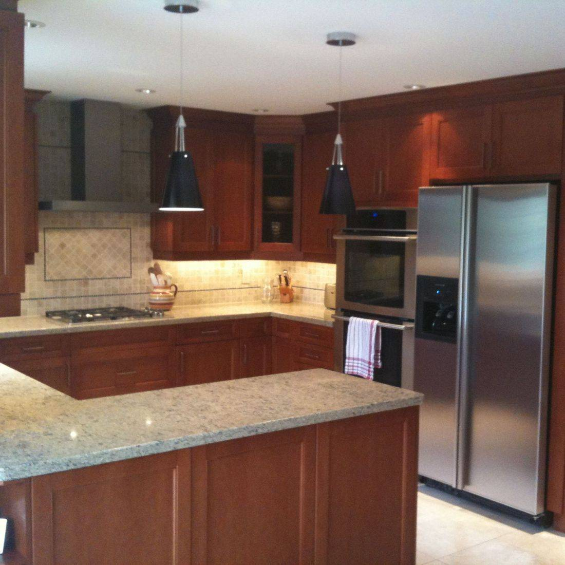Sibra Kitchens Markham Toronto maple cabinets