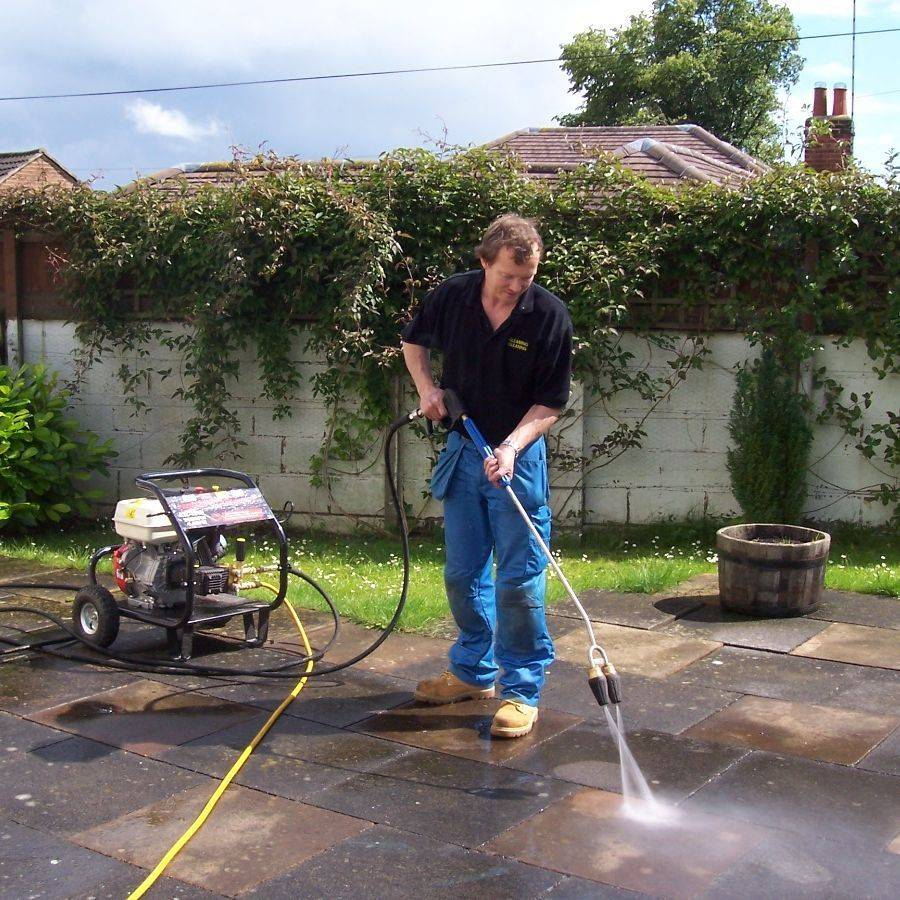 Pressure washing, Jet washing in Leicestershire.