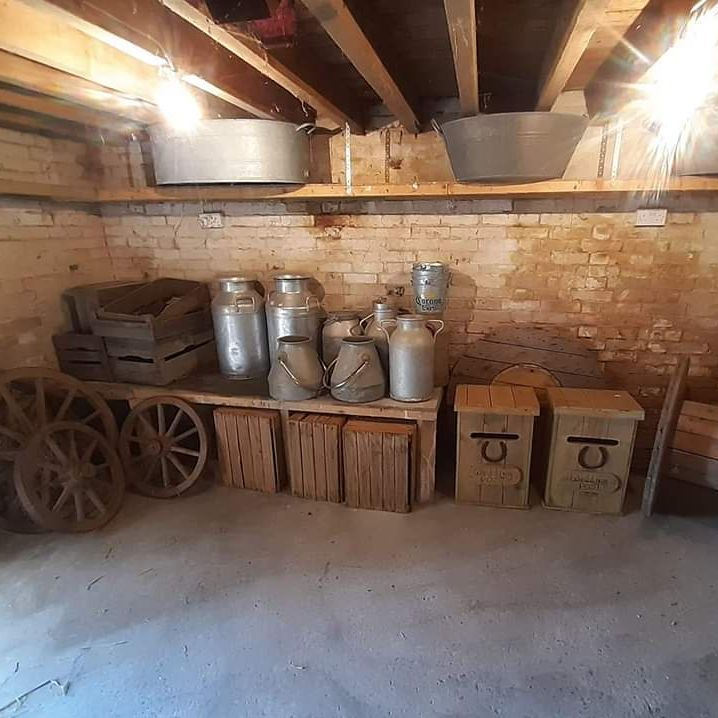 Milk churn hire