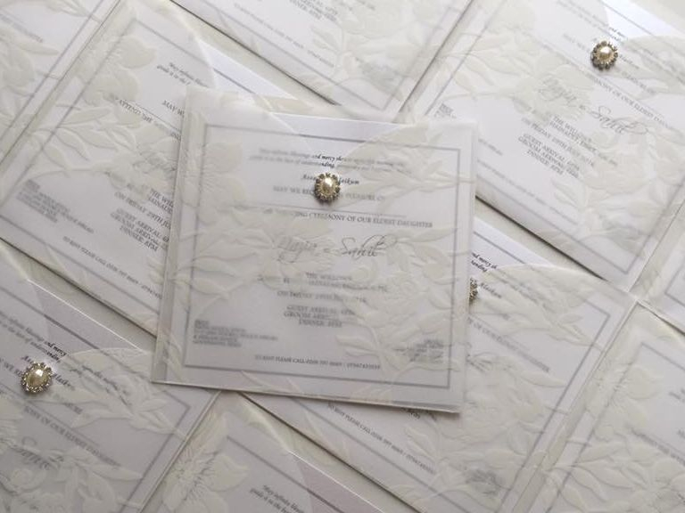 vellum wedding invitation, wedding invitations, luxury wedding invitations
