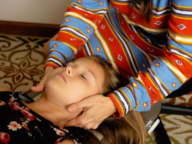 Neck adjustment child