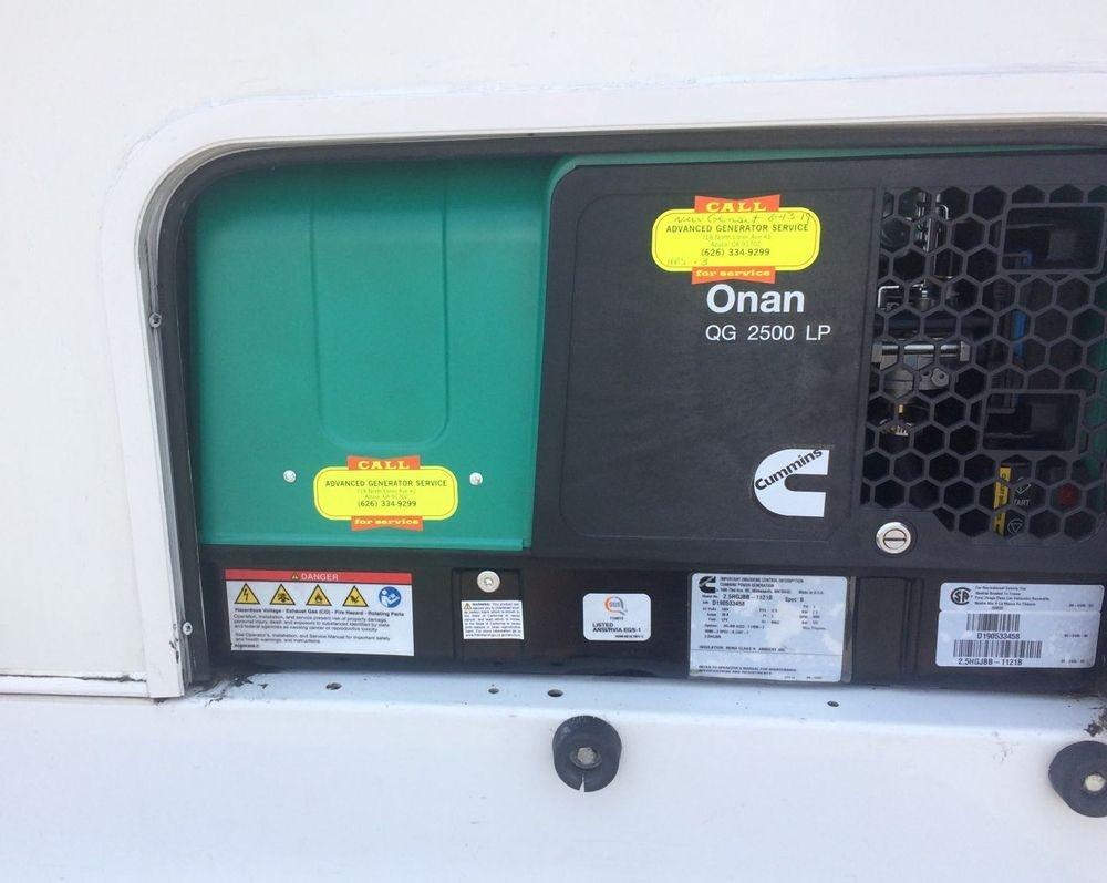 Onan 2.5 Custom install complete