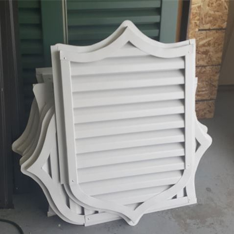 Custom Logo gable vent