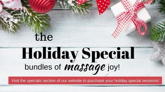 Holiday Specials for Massage Therapy in Alexandria Virginia