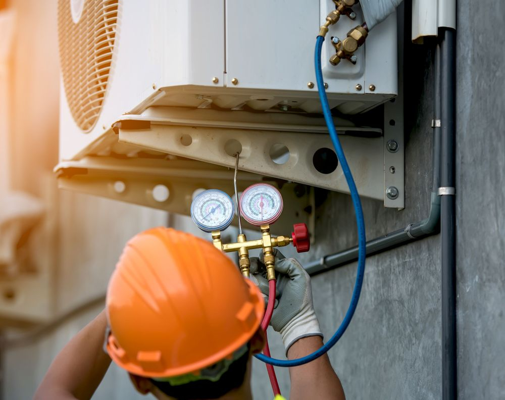 fault Find And Access Problems Or Repair Work On All HVAC Systems