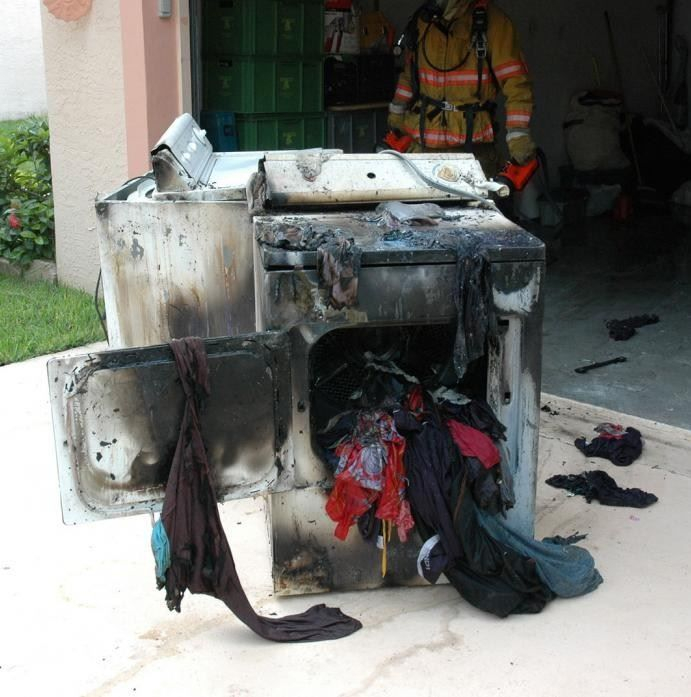 Dryer vent cleaning is important to help prevent fires