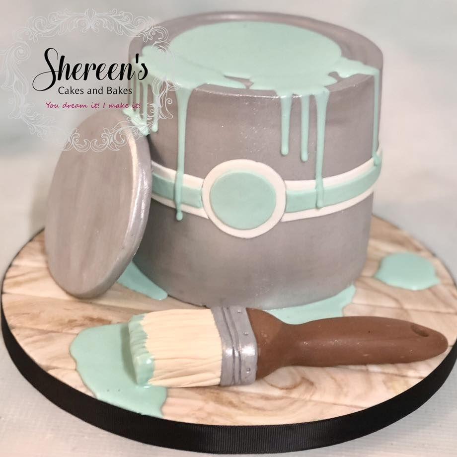 Paint Pot Cake