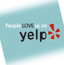 Image of the Yelp logo and reviews