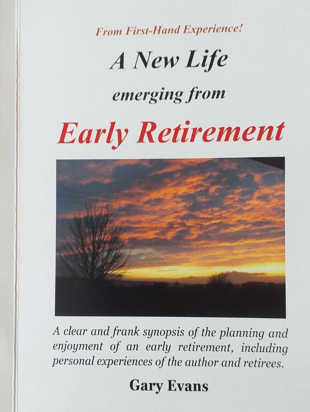 retirement planning, Gary Evans, self-help books