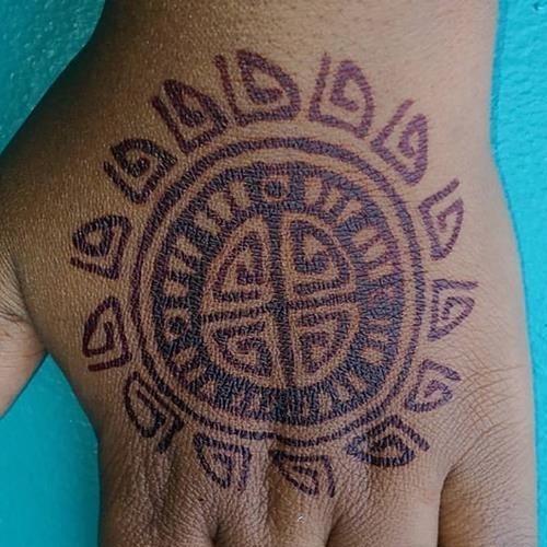 #Henna #Tribal #HennaTattoo #JaHenna #TribalSun #HennaInNegril Henna in Negril Jamaica