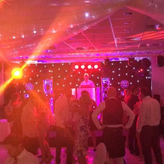 Wedding DJ Charlie at Sharnbrook