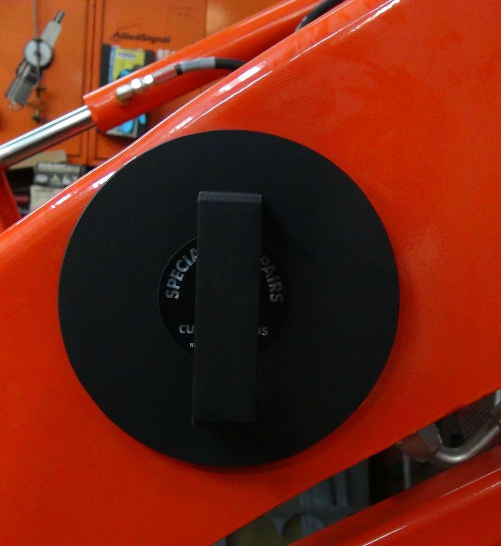 Tractor FEL Tube caps