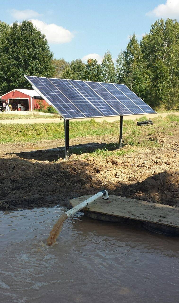 solar dewatering pumps