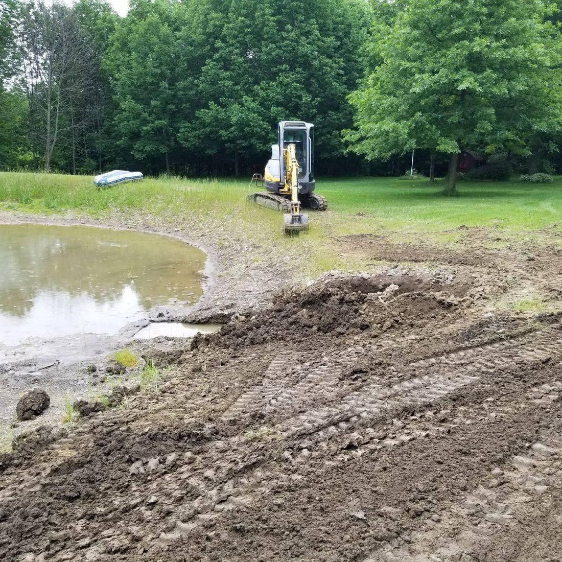 Pond Drainage