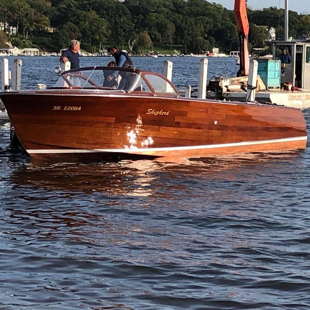 wood boats lake geneva