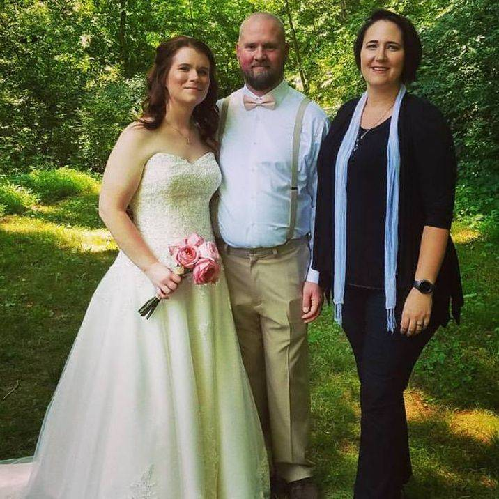 nature, rural, wedding, officiant, minister, wedding