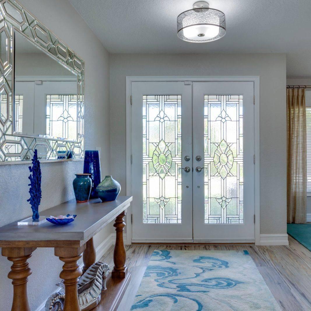 foyer design, foyer area rug, beach interior design