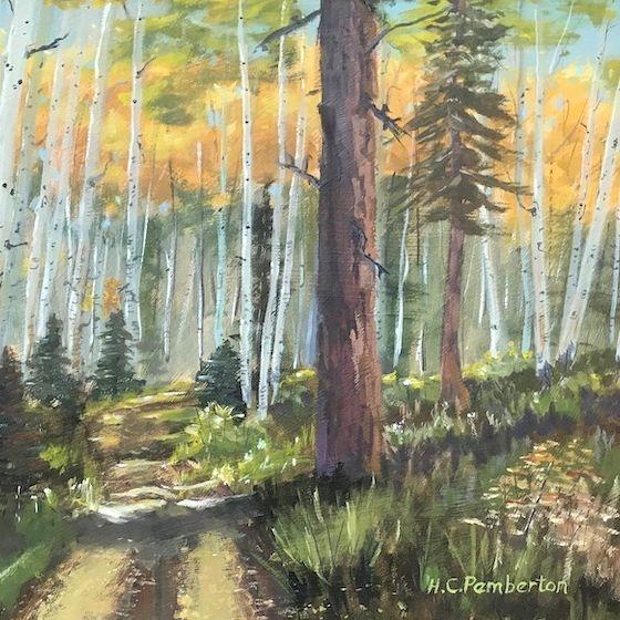 Aspen, Colorado, Gunnison, Soap Creek, Old Road, Western Art, Rocky Mountain