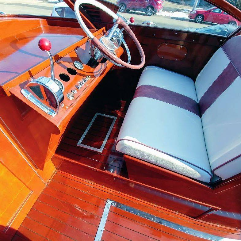 wood boats for sale lake geneva