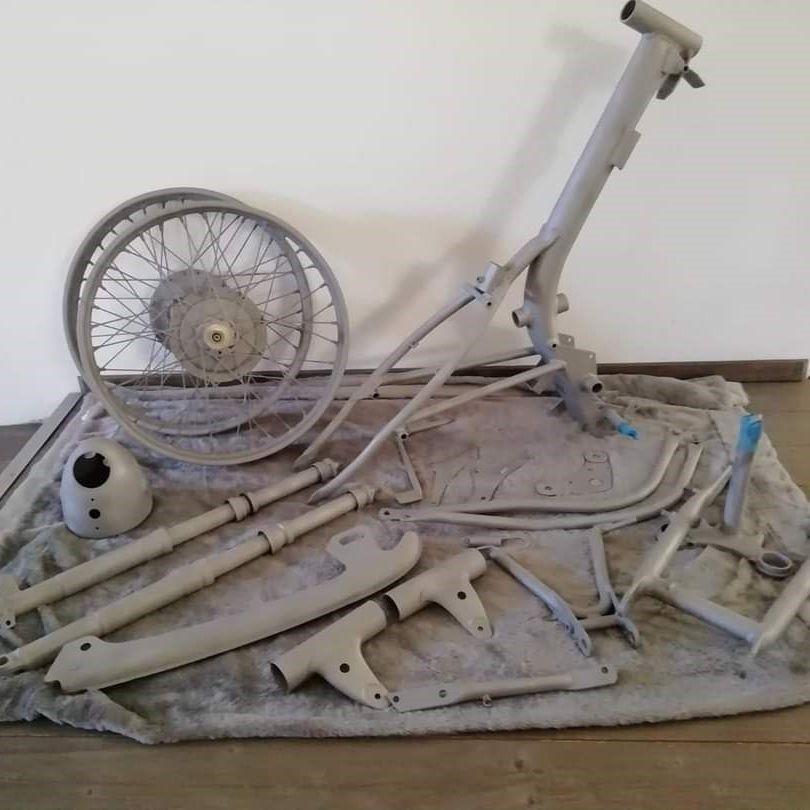 Sandstrahlen Oldtimer DKW