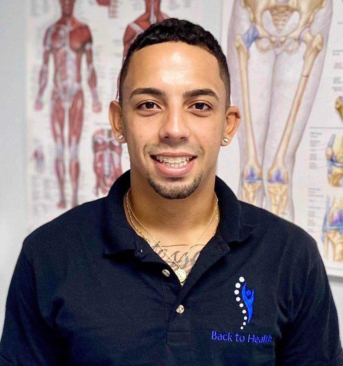 Joseph Pereira, RMT, Massage therapist at Back to Health