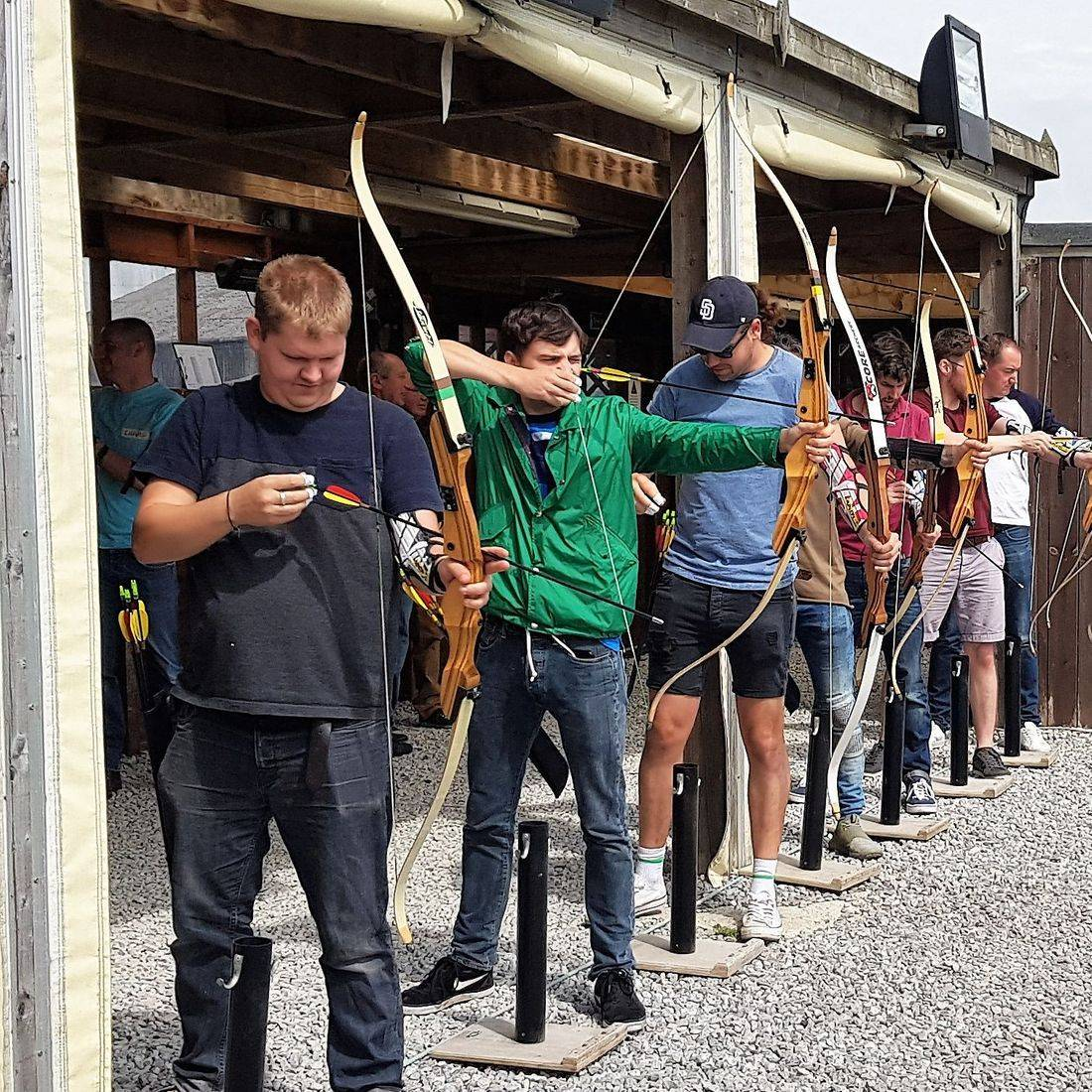 Archery for groups in Sheffield