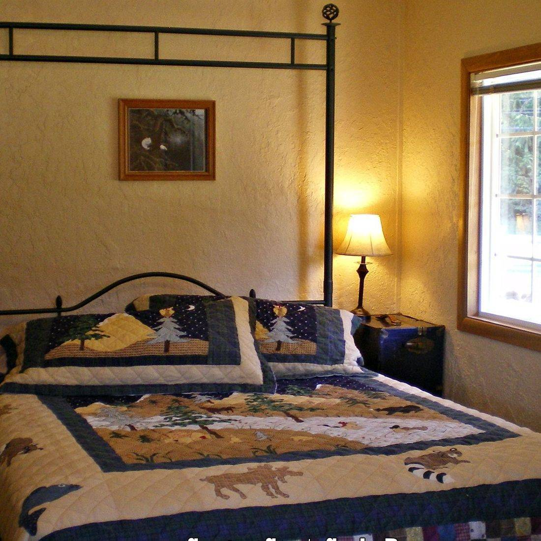 log cabins in Concrete, North Cascades, Washington, lodging, hotels