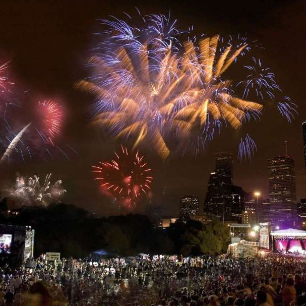 image of July 4th Fireworks Freedom Over Texas Houston