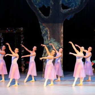 "Artistry is displayed by our INB dancers onstage as they perform ""Moonlight""."