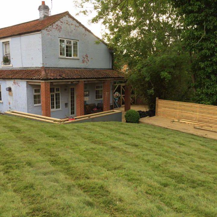 fencing landtstone fence panel pannel