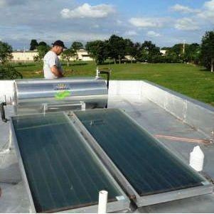 Instalacion de calentador solar en Puerto Rico