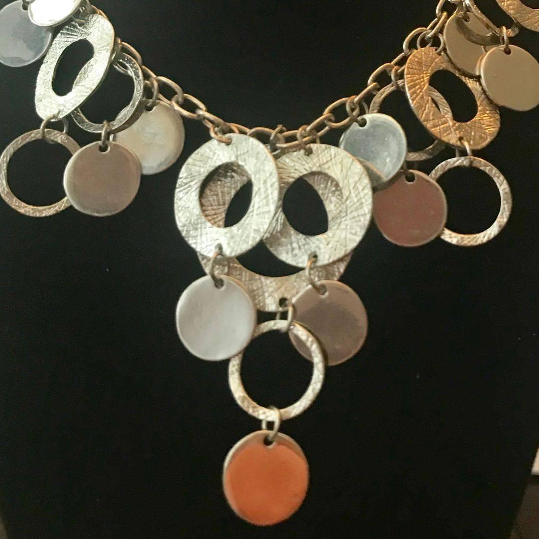 Silver Loop Fashion Jewelry