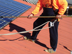 solar cleaning on your roof