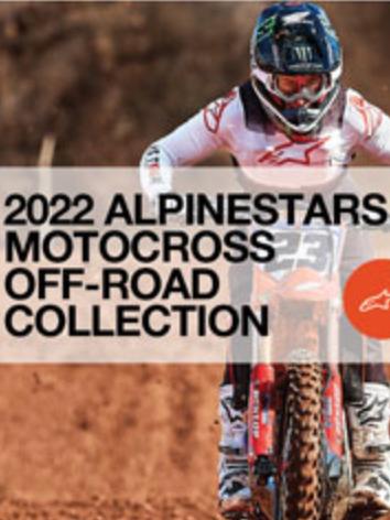 Dirtbike getting ready for start Alpinestars Catalog