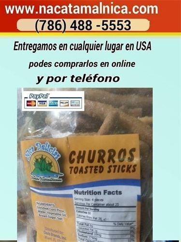 Churros Nicaraguense - Nicaraguan Toasted Stick
