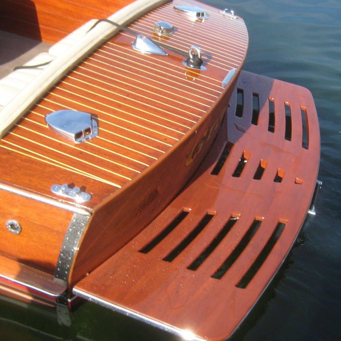 Bergersen Boat Co. Custom Swim platforms