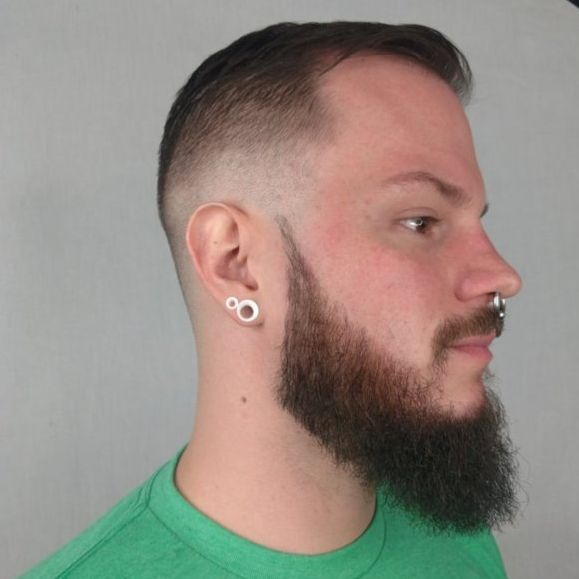 Mens grooming charlotte barber beard trim fade skin classic cut