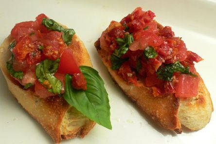 Bruschetta Arista Caterers
